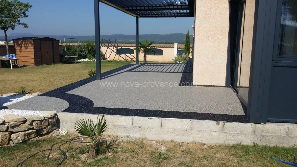 Revetement sol pour terrasse for Idees de terrasse exterieur